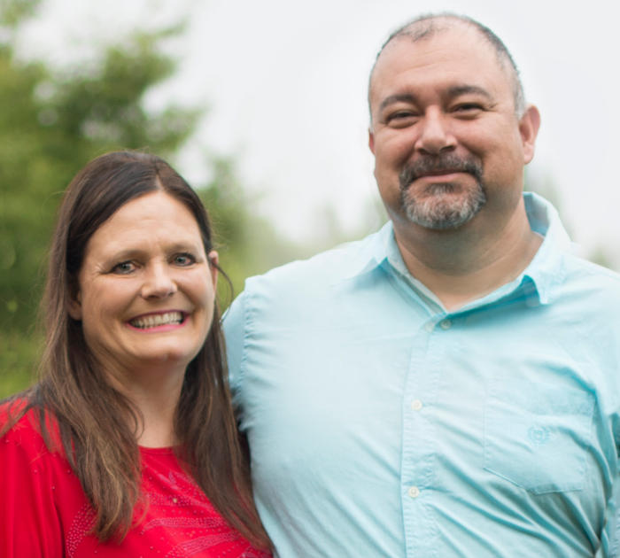 Gabe and Heidi Founders of Togther We Shine LLC; Services that match People with Disabilities with Host Homes Families and Caregivers with Respite Care
